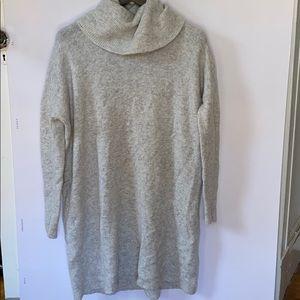 Madewell cowel neck sweater dress